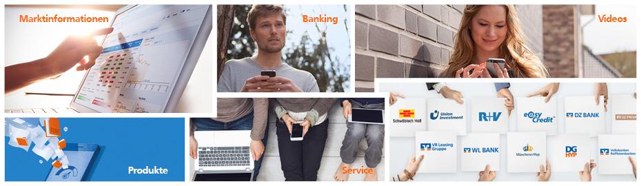 Funktionen des Online-Bankings